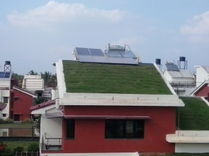 Solar installation at a ZED home